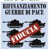 Ideologia di guerra conclamata. Manca – in Europa come in Italia – la politica: l'idea che la sicurezza possa essere assicurata non dalle armi ma dalle relazioni politiche, economiche e sociali tra diversi – tra stati e all'interno degli stati.