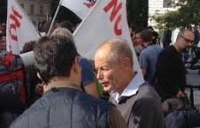 """NoTav: Previsto per giovedì 5 giugno il processo a Erri De Luca. Imputato per il reato di istigazione a delinquere per aver pubblicamente manifestato dissenso contro il TAV. Consiglio a tutti i protettori dell'inutile, e dannosa, opera il libro di Lidia Menapace """"Io partigiana"""". Forse, dopo sapranno declinare la parola DEMOCRAZIA!"""