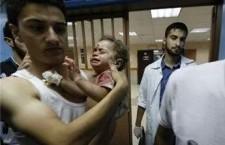 """Il popolo palestinese massacrato per espansionismo coloniale e pulizia etnica. Non è una guerra ma un genocidio pianificato. Gaza, nemmeno più le chiese sono luoghi sicuri. Israele si accanisce ancora contro gli ospedali. Dopo gli ospedali, le scuole e i rifugi, Israele prende di mira anche le chiese. Da questa notte nel quartiere Zeitun è l'inferno. """"Basta con questo orrore"""", urla al telefono il Parroco di Gaza City, Padre Jorge Hernandez. Il bilancio di oggi è superiore alla media dall'inizio del conflitto, con più di cento vittime."""