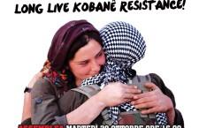 Il 1 novembre sarà una giornata di mobilitazione globale a sostegno dei diritti e della resistenza del popolo kurdo. Manifestazione a Roma