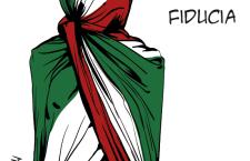 Il partito della nazione. «Il partito della Nazione non è di centro-sinistra ma di centro. Anzi direi che Renzi fa un'operazione di assemblaggio con un indirizzo chiaramente di destra e con una piattaforma organicamente di destra. Su questo non si possono fare obiezioni perché fa una cosa esplicita sul versante neoliberista. Ma ormai anche il centro-sinistra è nel solco neoliberista tracciato da Tony Blair». Paolo Ferrero, segretario di Rifondazione Comunista