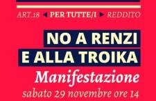 """""""L'Altra Europa"""" in piazza il 29 novembre con le sinistre UE. Ore 14.00 Roma, Piazza Farnese"""