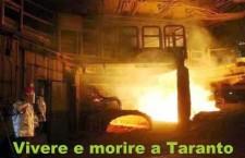 Vivere e morire a Taranto. Per  un nuovo piano di risanamento che coinvolga i giovani laureati che la locale Università di scienza ambientale sforna ogni anno, gli operai attualmente occupati nell'area a caldo e le attività di coltivazione di mitili che potrebbe rifiorire potendo cosi raggiungere i livelli quantitativi e qualitativi che hanno già fatto conoscere Taranto in tutto il mondo