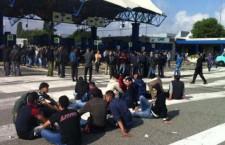 Torino: La lotta dei facchini del CAAT.