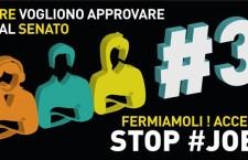 Stop jobsact, domani in tanti e tante per circondare il Senato contro la follia di Renzi.