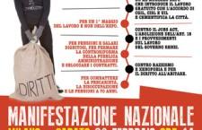 Le aziende brindano, i lavoratori e i precari no! Il 28 febbraio a Milano per dire al Jobs Act No al precariato No all'EXPO!