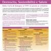 2° Conferenza Nazionale Decrescita, Sostenibilità e Salute