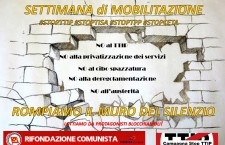 SETTIMANA di MOBILITAZIONE – STOPTTIP – STOPTISA – STOPTPP – STOPCETA