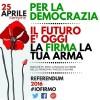 Il 25 Aprile Inizia la Raccolta Firme Contro le Modifiche Costituzionali