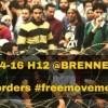 Nessuna frontiera né al Brennero né in Europa