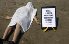 206 GLI INFORTUNI MORTALI RILEVATI SUL LAVORO (CON UNA MEDIA DI 13 MORTI A SETTIMANA) E 65 QUELLI IN ITINERE.