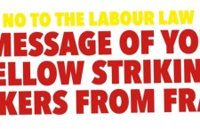Messaggio da parte dei lavoratori e delle lavoratrici francesi in lotta