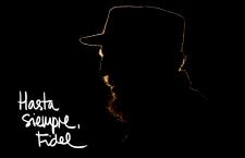 Il compagno Fidel Castro ci ha lasciato questa notte alle 22,29 (ora cubana) alle 4,22 di questa notte.