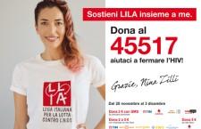 Sostieni l'impegno della LILA per la promozione del test HIV.