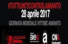 Amianto. Parte la campagna #tuttiuniticontrolamianto per sensibilizzare cittadini e studenti su salute e sicurezza sul lavoro