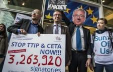 Gli oltre 3 milioni di firme contro il TTIP erano valide