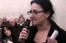 Solidarietà alla compagna Gina De Angeli