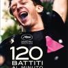 """Nelle sale italiane """"120 battiti al minuto"""", dedicato ad """"Act UP"""", storico movimento per la lotta all'Aids."""
