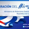 Cuba respinge il ritorno della Dottrina Monroe
