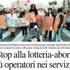 """NAPOLI. STOP ALLA """"LOTTERIA-ABORTI"""" PIU' OPERATORI E OPERATRICI NEI SERVIZI"""