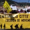 Ventimiglia città aperta: 10mila in corteo contro le frontiere