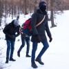 I migranti rischiano la vita attraverso le Alpi