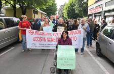 AMIANTO: CORTEO CONTRO LE STRAGI IMPUNITE