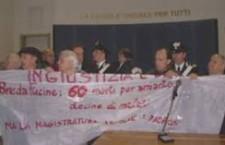 Giustizia per gli operai Breda vittime dell'amianto e del profitto!