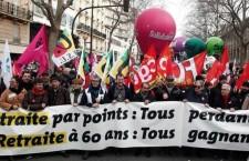 Le lotte in Francia e le elezioni in Spagna
