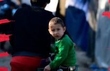 Un inverno a Lesbo nel campo profughi Moria