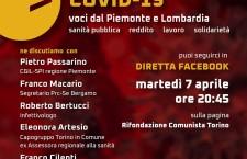 Emergenza Covid-19 Voci dal Piemonte e dalla Lombardia