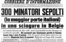 8 AGOSTO 1956. STRAGE OPERAIA A MARCINELLE