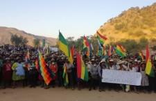 Drammatica situazione in Bolivia.