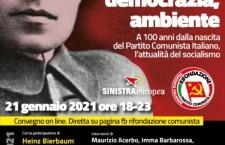 21 gennaio 2021. Convegno a 100 anni dalla nascita del Partito comunista