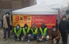 Prato: lavoratori di Texprint in sciopero da un mese, scontri e tensioni
