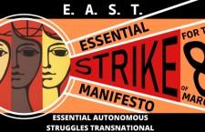 Manifesto per lo sciopero essenziale dell'8 marzo
