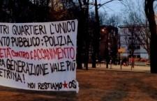 NEI NOSTRI QUARTIERI L'UNICO INTERVENTO PUBBLICO È QUELLO DELLA POLIZIA