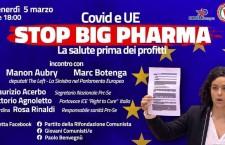 COVID E UE: Stop Big Pharma. La salute prima dei profitti