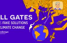 Gates: gli interessi dietro le false soluzioni al cambiamento climatico