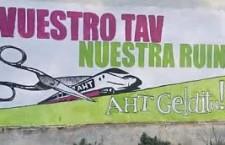 Campagna di murales anti TAV