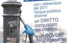 Acqua pubblica. Il voto   azzerato