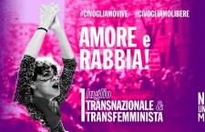 1 luglio Transfemminista e Transnazionale. Amore e rabbia contro l'attacco patriarcale!