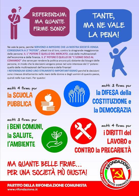volantino referendum sociali