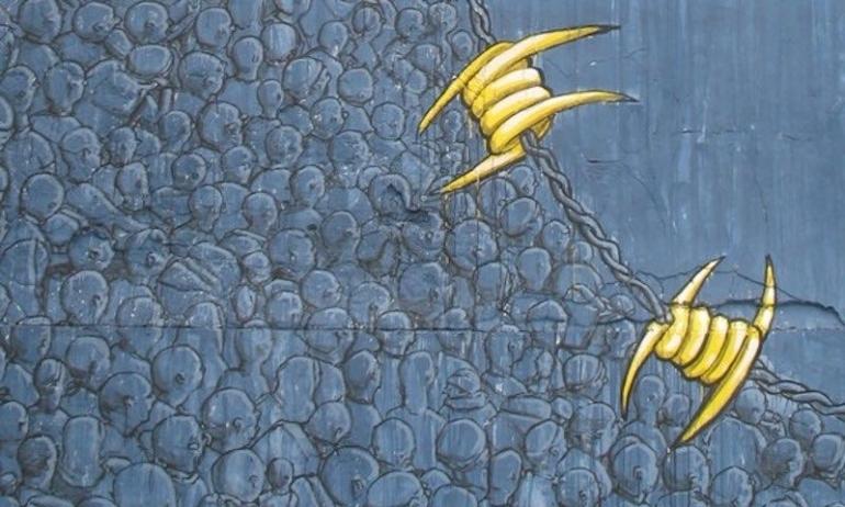 migranti filo spinato