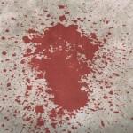 macchia sangue