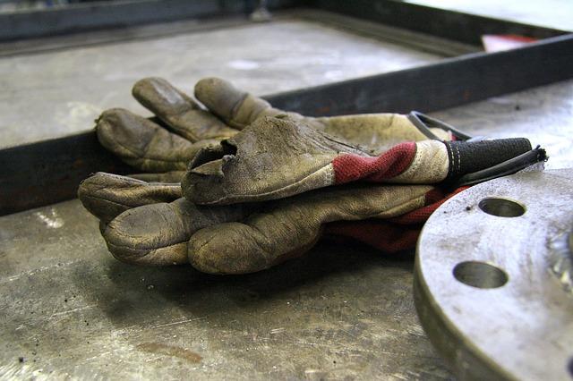 Guanti morti lavoro