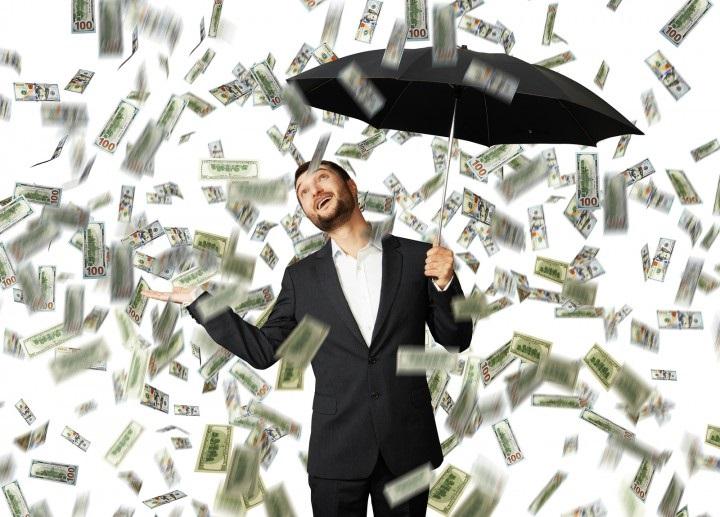 soldi ombrello