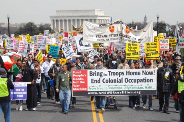 Sixth-anniversary-of-Iraq-war-protest